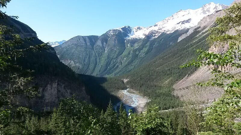 Berg Lake Trail - Mount Robson
