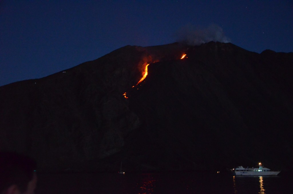 Éruption du Stromboli