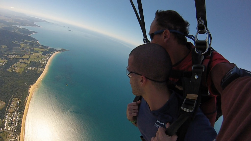 Yoann Skydiving Mission Beach