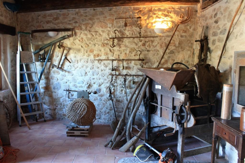 Ancien équipement du moulin