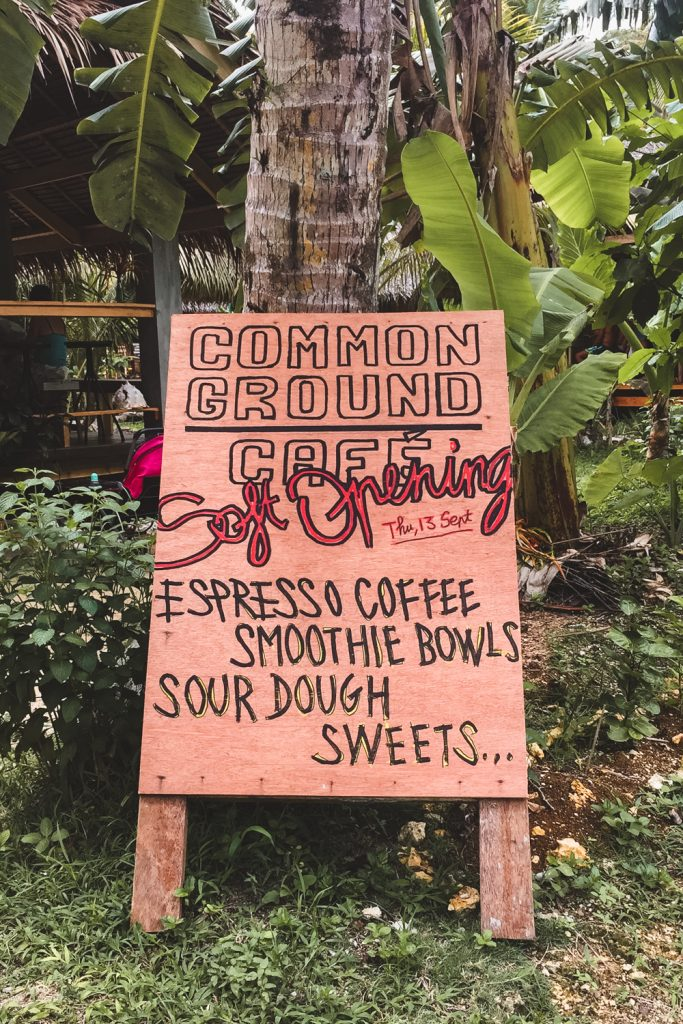 common ground cafe on siargao