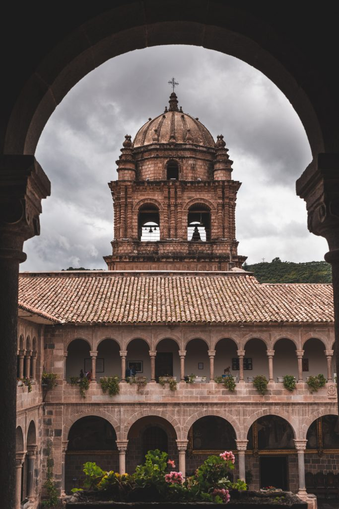 Cusco church peru